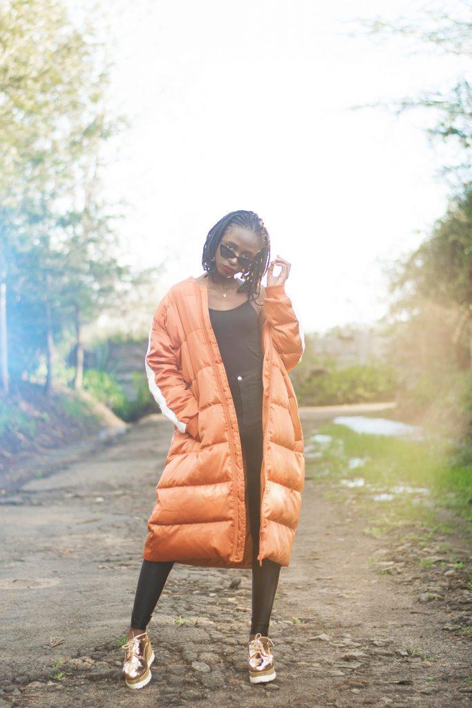 oversized jacket fashion statement